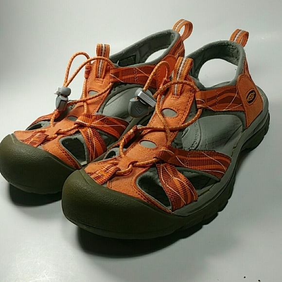 51db48cf973 Keen Shoes - Keen Venice Waterproof Sandals Sz 8.5 Orange